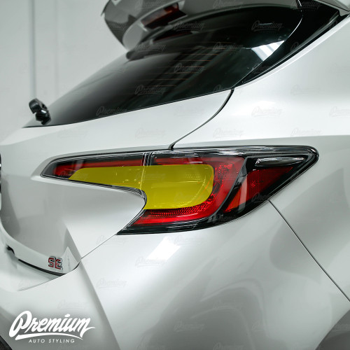 Tail Light Full Stealth Overlay - Smoke Tint | 2019-2020 Toyota Corolla Hatchback