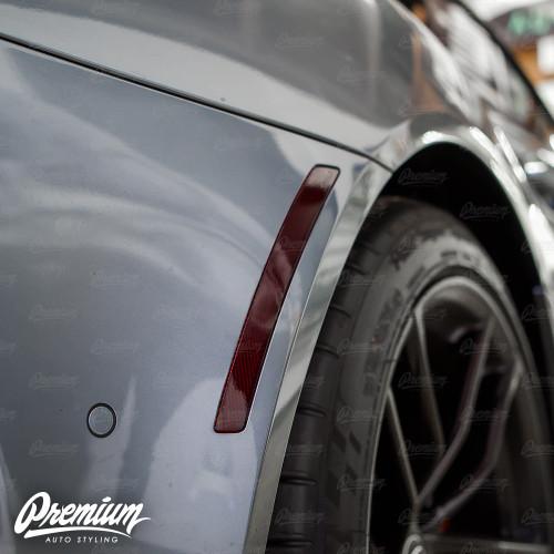 Smoked Rear Side Marker Reflector Overlays - Smoke Tint | 2020 Toyota Supra