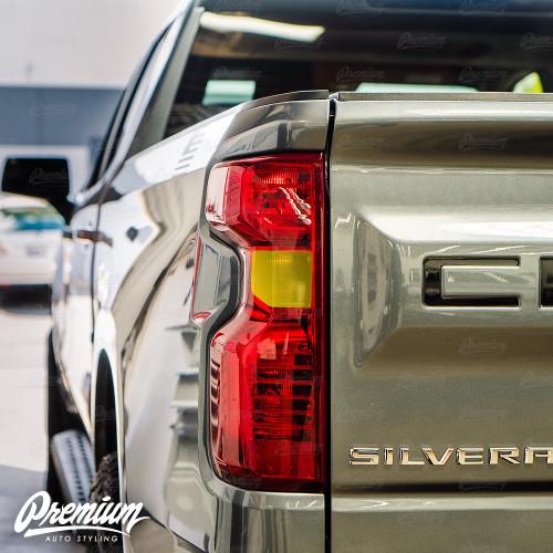 Smoked Reverse Light Tint Overlay - Smoke Tint | 2020 Chevrolet Silverado