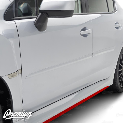 Side Skirt Accent Vinyl Overlay (Choose Your Color) | 2015-2020 Subaru WRX / STI