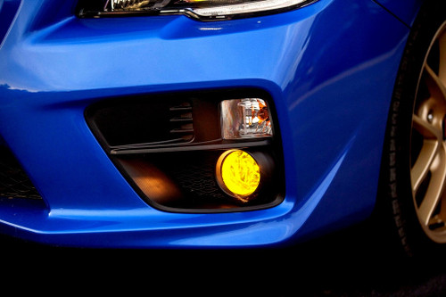 Fog Light Tint Overlay - Rally Yellow/Smoke | 2015-2018 Subaru WRX / STI