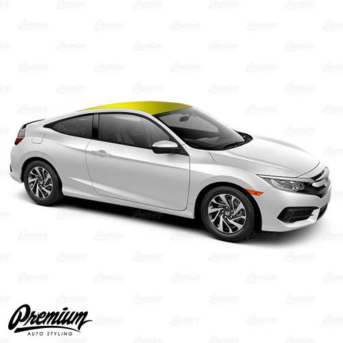 Vinyl Roof Wrap Kit - Gloss Black | 2016-2018 Honda Civic Coupe