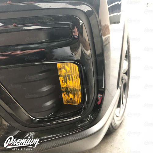 Fog Light Overlay - Yellow Tint | 2019-2020 Subaru Forester Sport