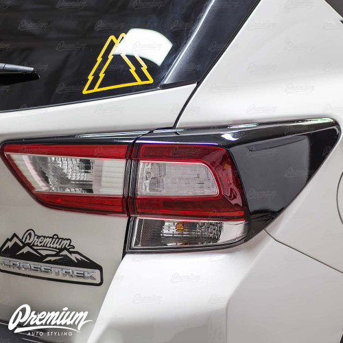 Tail Light Deck Vinyl Overlay - Gloss Black | 2018-2020 Subaru Crosstrek
