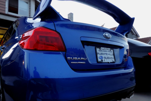 Red Tail Light Inset Overlay | 2015-2020 Subaru WRX / STI
