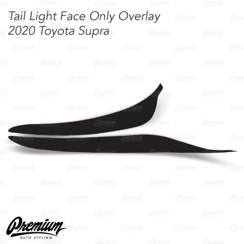Tail Light Face Tint Overlay - Smoke Tint | 2020-2021 Toyota Supra