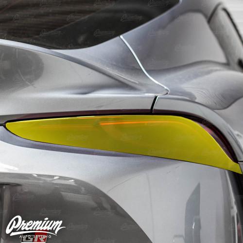 Tail Light Face Tint Overlay - Smoke Tint   2020 Toyota Supra