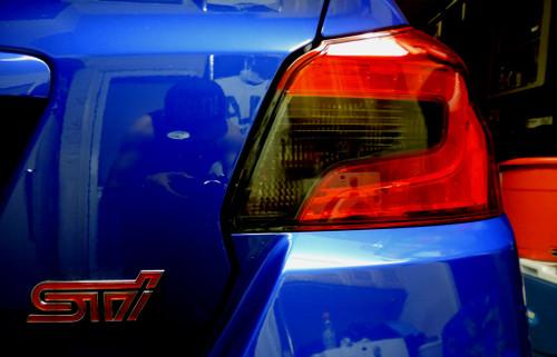 Smoked Tail Light Inset Overlay   2015-2021 Subaru WRX / STI