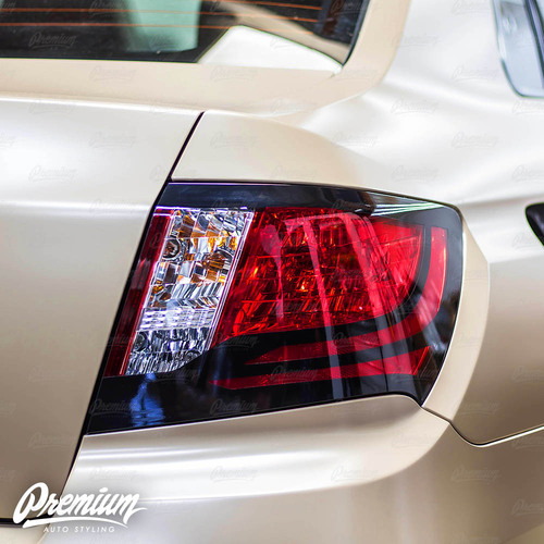Tail Light Trim Accent Overlay - Gloss Black | 2008-2014 Subaru WRX/STI Sedan