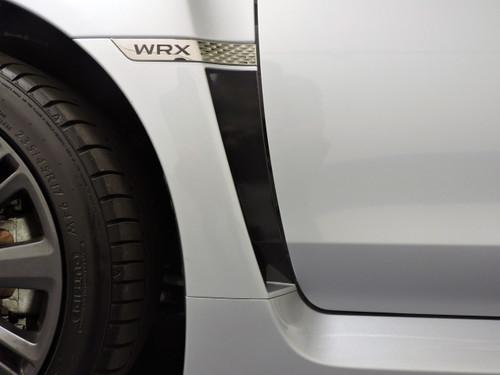 Gloss Black / Satin Black / Carbon Fiber - Fender Accent Vinyl Overlay | 2015-2020 Subaru WRX / STI