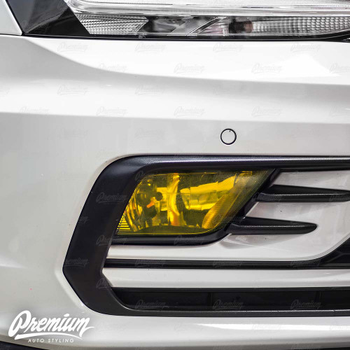 Fog Light Overlay - Yellow Tint | 2016-2018 Volkswagen Jetta GLI Sedan