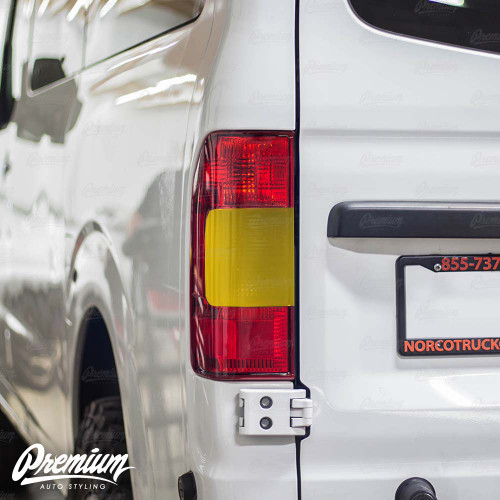 Tail Light Overlay - Dark Smoke Tint | 2012-2020 Nissan NV1500-3500