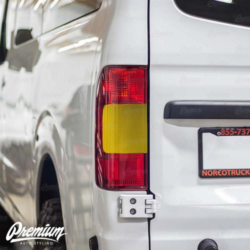 Tail Light Overlay - Smoke Tint | 2012-2020 Nissan NV1500-3500