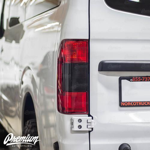 Tail Light Overlay - Dark Smoke Tint | 2012-2020 Nissan NV1500-3500