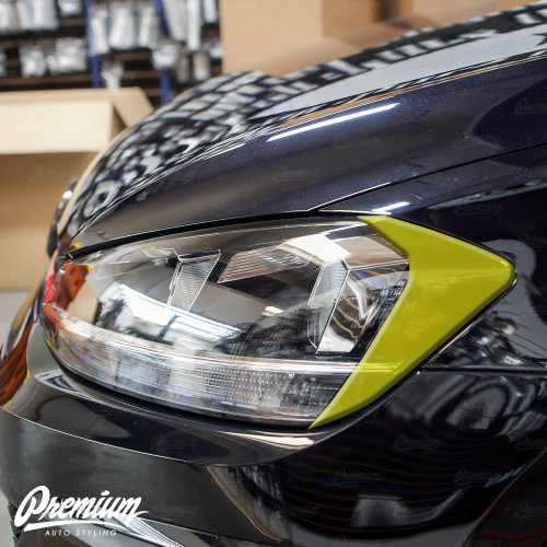 Headlight Amber Delete - Smoke Tint | 2018-2020 Volkswagen Golf | GTI (Halogen Only)