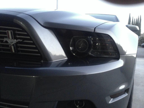 Smoked Headlight Covers (2010-2014 Mustang)