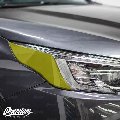 Headlight Amber Delete Overlay - Gloss Black | 2020 Subaru Outback