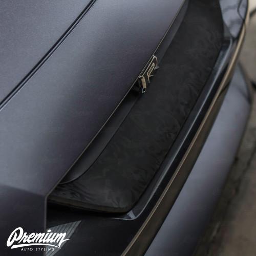 GTR Grille Accent Overlay - Shadow Black | 2018-2021 Nissan GTR