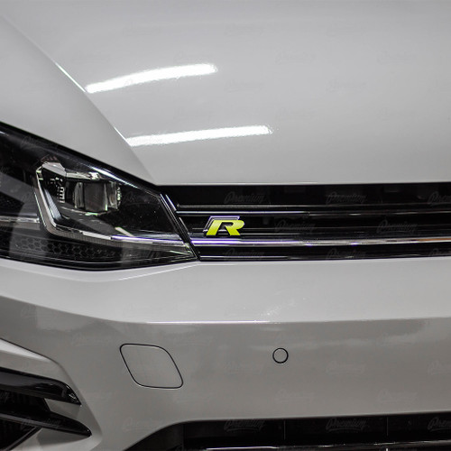 "2015-2019 Volkswagen Golf R | ""R"" emblem overlay set"