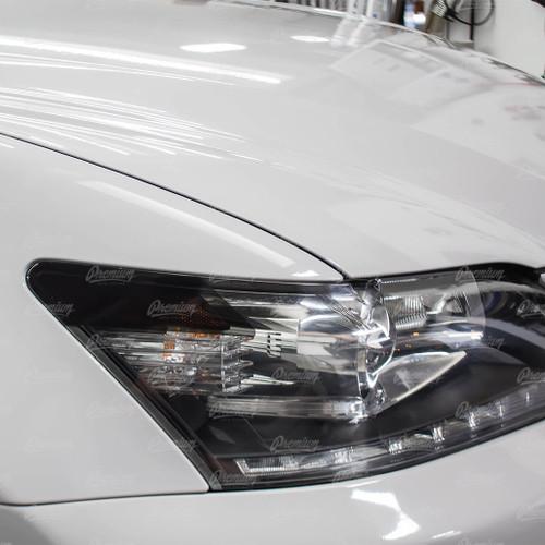 Headlight Amber Delete Vinyl Overlay - Smoke Tint | 2013-2015 Lexus GS350 Xenon/HID Headlights