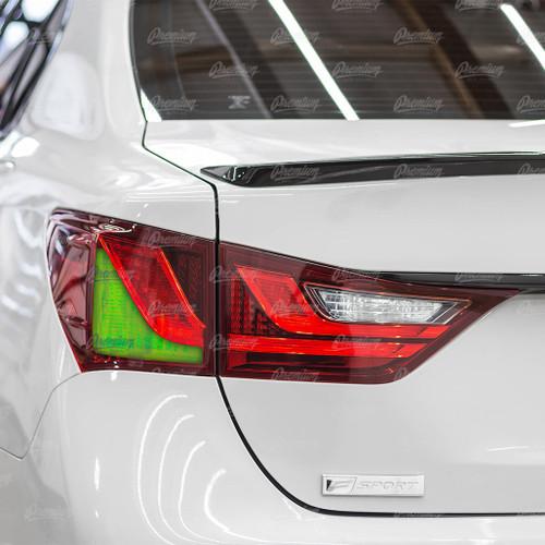 Turn Signal Tint Overlay - Red Tint | 2013-2015 Lexus GS350/GS450h
