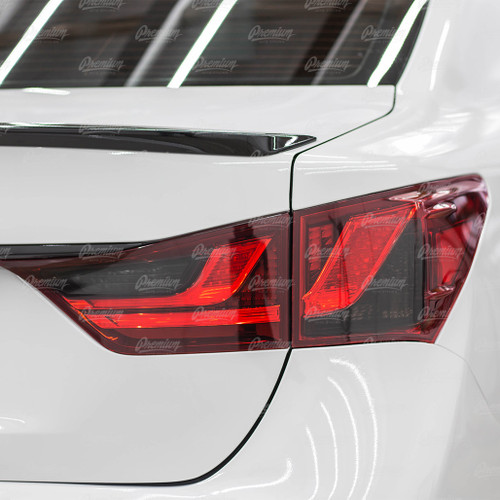 TAIL LIGHT TINT Overlay - SMOKE TINT | 2013-2015 Lexus GS350/GS450h