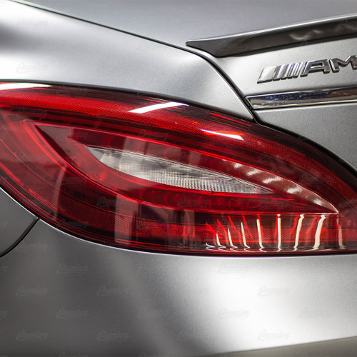 Turn Signal Tint Overlay - RED TINT | 2016 Mercedes CLS 63S