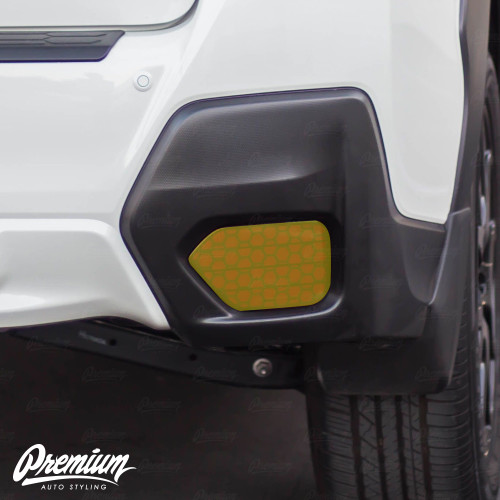 Smoked Honeycomb Rear Reflector Overlays (2018-2021 Crosstrek)