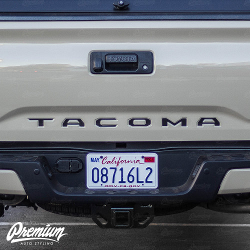 Tail Gate Lettering Inlays - Multiple Colors Available | Toyota Tacoma (2016-2020)
