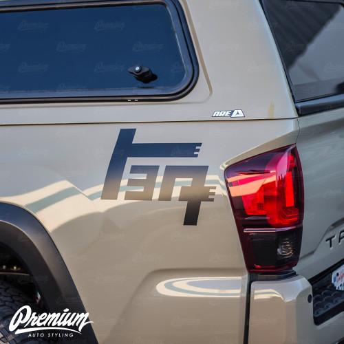 "Toyota ""TEQ"" Bedside logo Decal Set"