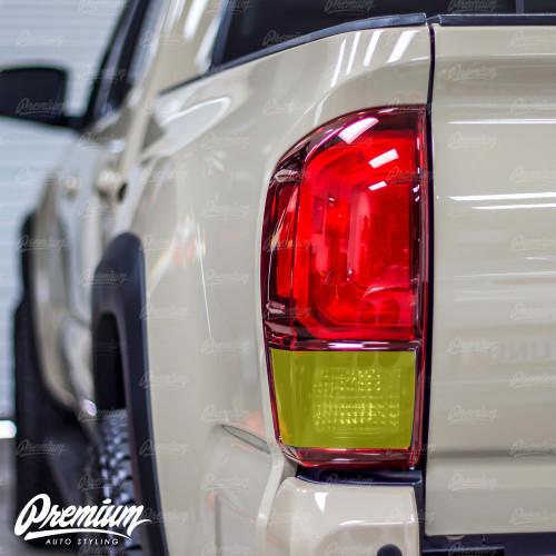 Tail Light Smoked Reverse Overlay - Smoke Tint   2016-2020 Toyota Tacoma