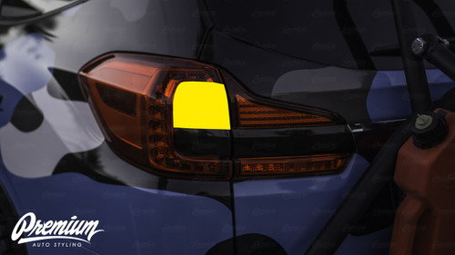 Turn Signal Red Tint Overlay | 2019-2021 Subaru Ascent
