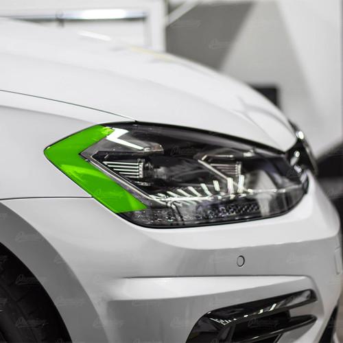 Headlight Amber Delete Vinyl Overlay - Smoke Tint | 2018-2020 Volkswagen Golf R