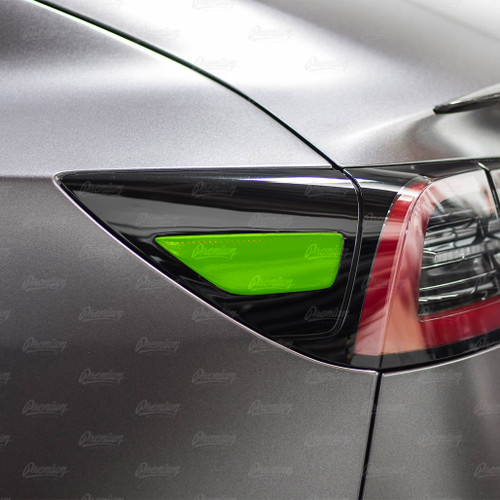 Rear Side Reflectors - Smoke Tint | 2017+ Tesla Model 3