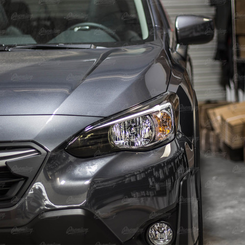 High Beam Overlay - Smoke Tint | 2018-2021 Subaru Crosstrek