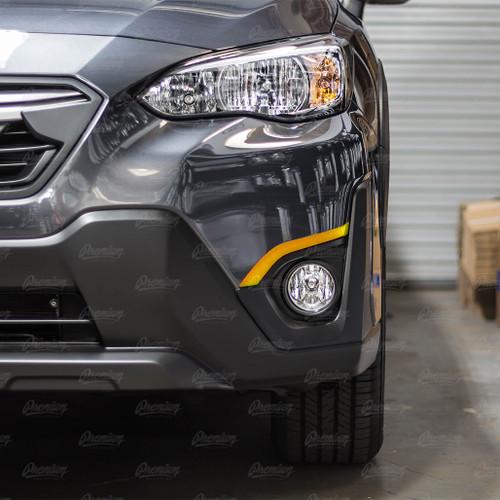 Front Bumper Accent Overlay - All Colors | 2018-2021 Subaru Crosstrek