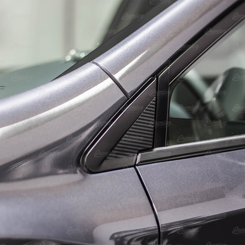 Mirror Inlay Accent Overlay - Carbon Fiber   2018-2021 Subaru Crosstrek