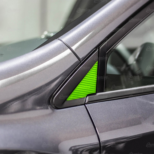 Mirror Inlay Accent Overlay - Carbon Fiber | 2018-2021 Subaru Crosstrek