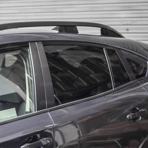 Window Pillar Overlays - Carbon Fiber | 2018-2021 Subaru Crosstrek