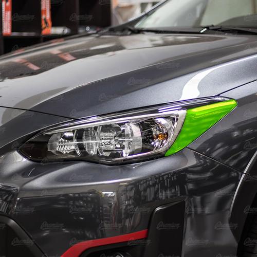 Smoked Tint Headlight Amber Delete  | 2018-2021 Subaru Crosstrek (Halogen Headlights)