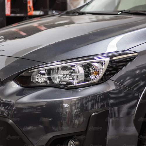 Blackout Headlight Amber Delete  | 2018-2021 Subaru Crosstrek (Halogen Headlights)
