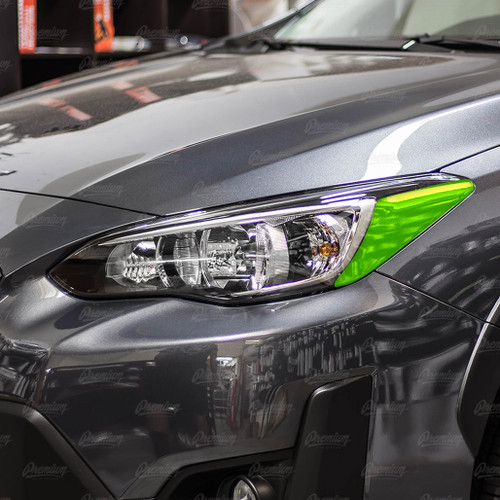 Blackout Headlight Amber Delete    2018-2021 Subaru Crosstrek (Halogen Headlights)