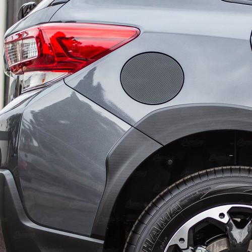 Gas Cap Overlay - Carbon Fiber   2018-2021 Subaru Crosstrek