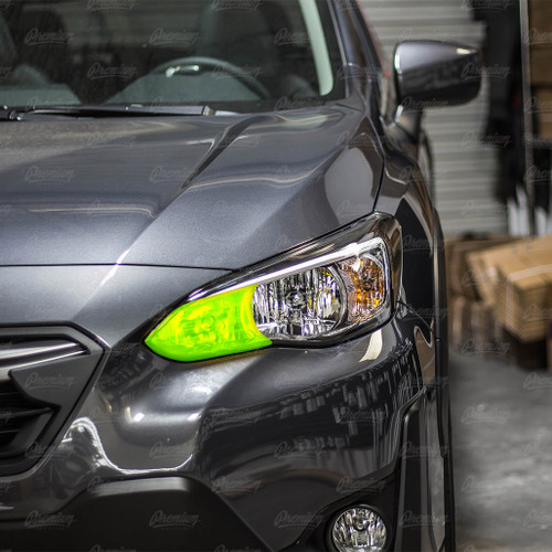 High Beam Overlay - Yellow Tint | 2018-2021 Subaru Crosstrek