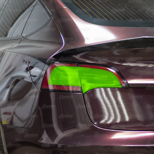 Tail Light Tint Overlay - Smoke Tint | 2017+ Tesla Model 3