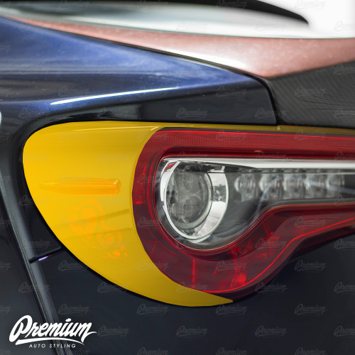 Tail Light Deck Vinyl Overlay - Gloss Black | 2017-2020 Subaru BRZ & 2017-2020 Toyota GT86