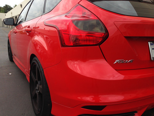 Focus ST Hatchback Smoked Tail Light Insert (2013 - 2014)
