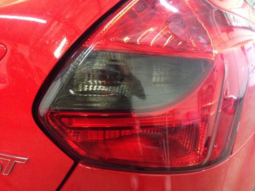 Focus ST Hatchback Smoked Tail Light Insert (2013 - 2014)