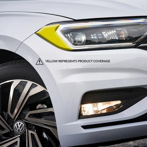 Headlight Amber Delete Overlay  - Smoked | 2019-2021 Volkswagen Jetta