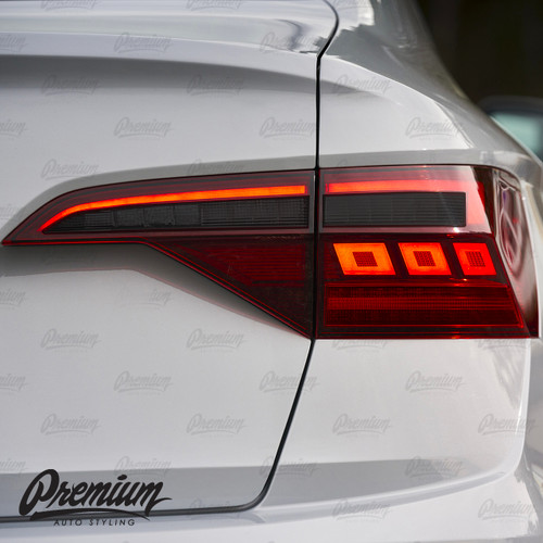 Smoked Reverse & Turn Signal Redout Overlays   Volkswagen Jetta 2019-2021